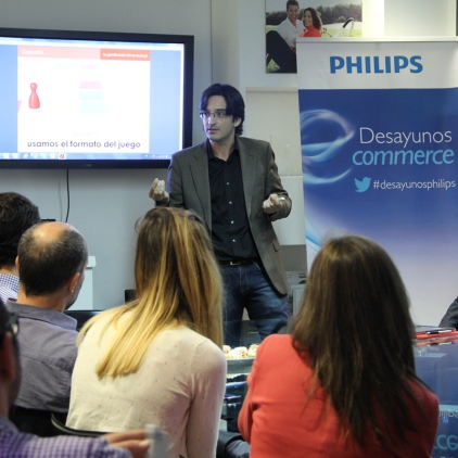 Desayunos Philips-ANAGAM | Charla sobre Gamificación aplicada al Marketing - Abril 2014