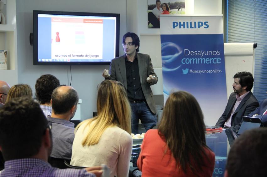 Desayunos Philips-ANAGAM | Charla sobre Gamificación aplicada al Marketing - Abril 2014