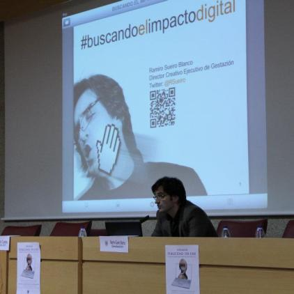 "Universidad Complutense de Madrid | Conferencia ""Buscando el impacto digital"" - 2012"